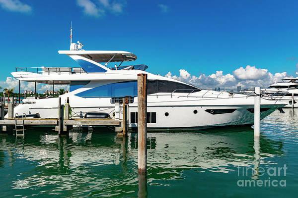 Photograph - Miami Beach Marina 14 by Carlos Diaz