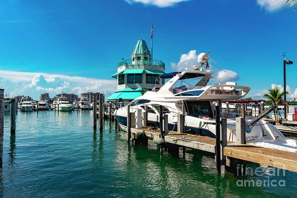 Photograph - Miami Beach Marina 19 by Carlos Diaz