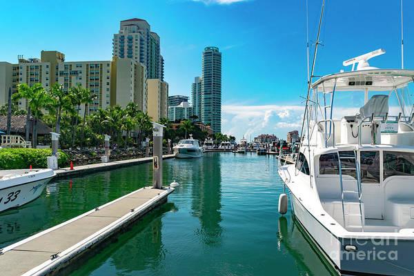 Photograph - Miami Beach Marina 8 by Carlos Diaz