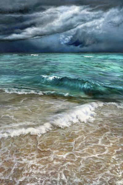 Painting - Miami Beach Storm by Steph Moraca