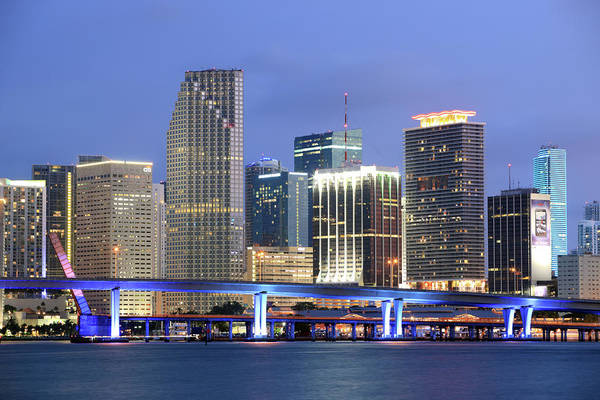 Biscayne Wall Art - Photograph - Miami, Florida by Jumper
