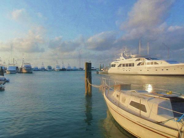 Photograph - Miami Harbor by JAMART Photography