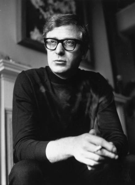 Adult Male Photograph - Michael Caine by Evening Standard