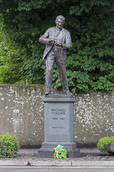 Wall Art - Photograph - Michael Collins Monument, Ireland by Ken Welsh
