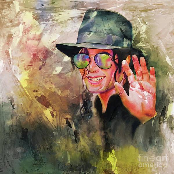 Wall Art - Painting - Michael Jackson Art 56y by Gull G