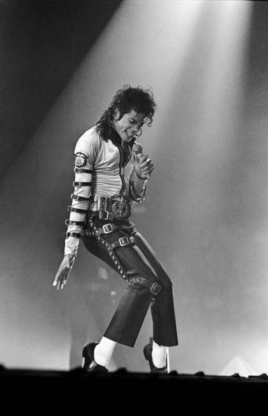 Photograph - Michael Jackson At Meadowlands by Dmi