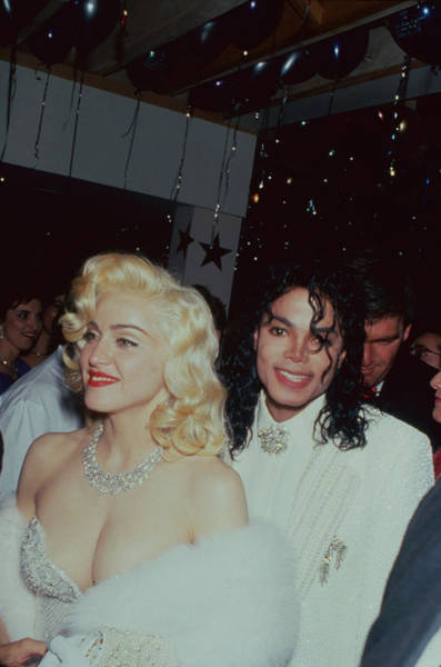 Photograph - Michael Jacksonmadonna by Time Life Pictures