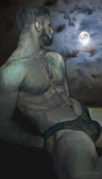 Digital Art - Michael by Richard Laeton