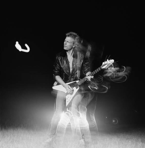 June Photograph - Michael Schenker by Fin Costello