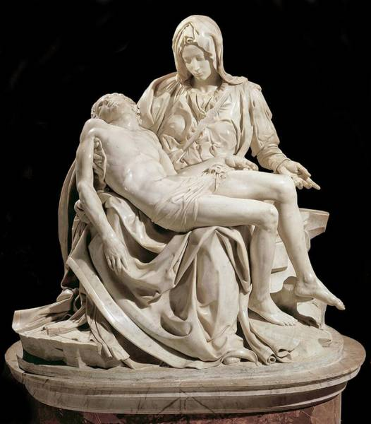 Photograph - Michelangelo La Pieta by Carlos Diaz