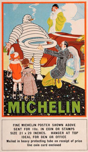 Michelin Tyres Man Poster - Vintage Art Print