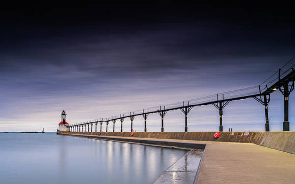 Photograph - Michigan City Lighthouse by Framing Places