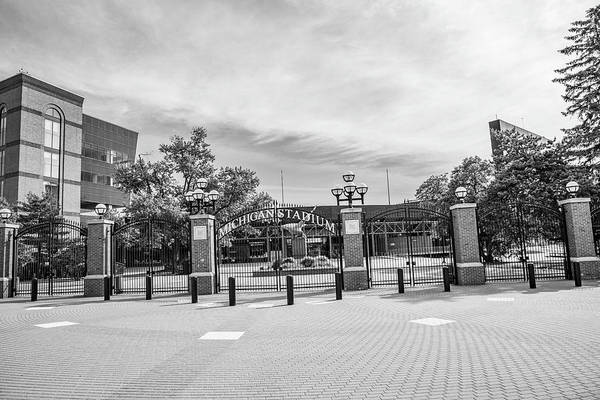 Wall Art - Photograph - Michigan Stadium Entrance 2 by John McGraw