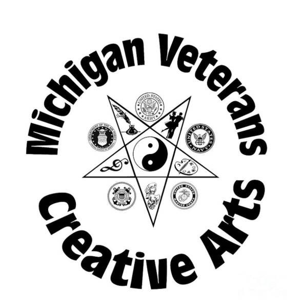 Digital Art - Michigan Veterans Creative Arts by Bill Richards
