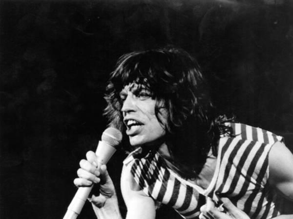 Photograph - Mick Jagger by Evening Standard