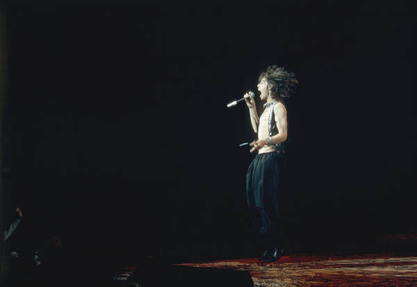 Rock Music Photograph - Mick Jagger by Graham Wiltshire