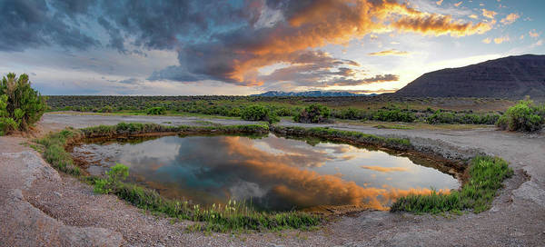 Photograph - Mickey Hot Springs 2 by Leland D Howard