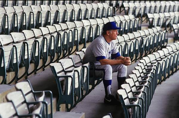 Sports Training Photograph - Mickey Mantle by Ronald C. Modra/sports Imagery