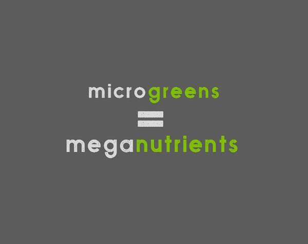 Drawing - Microgeens And Meganutrients - Green And Gray by Charlie Szoradi