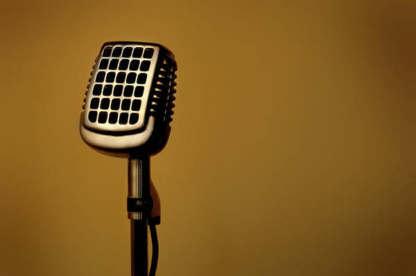 Wall Art - Photograph - Microphone 014 by Francisblack