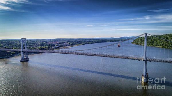 Photograph - Mid-hudson Bridge by Joe Santacroce