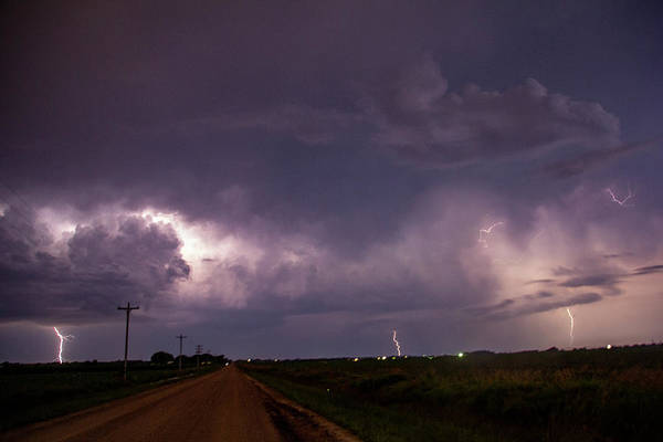 Photograph - Mid July Nebraska Lightning 001 by Dale Kaminski