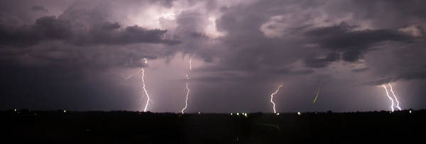 Photograph - Mid July Nebraska Lightning 002 by Dale Kaminski