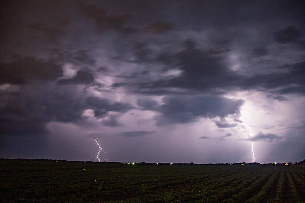 Photograph - Mid July Nebraska Lightning 005 by Dale Kaminski