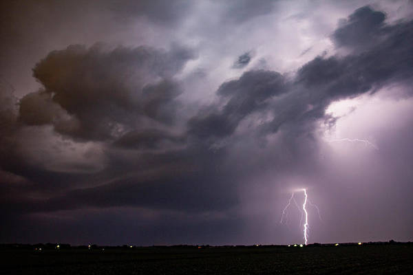 Photograph - Mid July Nebraska Lightning 013 by Dale Kaminski
