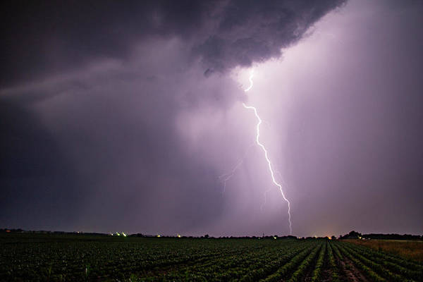 Photograph - Mid July Nebraska Lightning 016 by Dale Kaminski