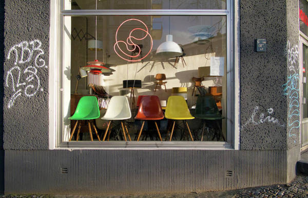 Photograph - Midcentury Modern Storefront by Michael Gerbino