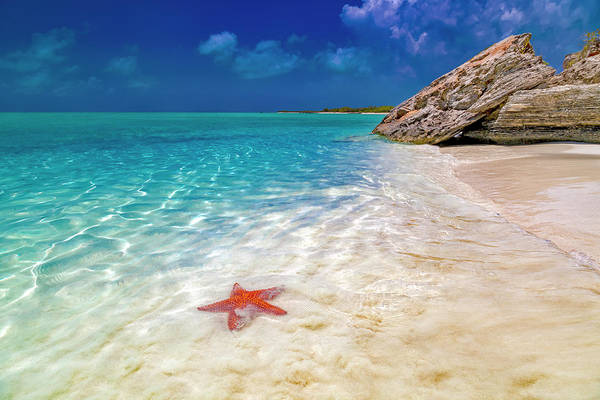 Wall Art - Photograph - Middle Caicos Tranquility Awaits by Betsy Knapp
