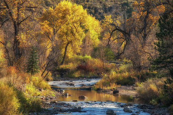 Photograph - Middle Saint Vrain by Darlene Bushue