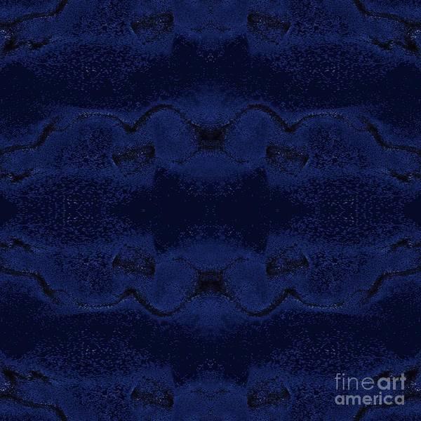 Digital Art - Midnight Blue by Rachel Hannah