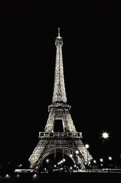 Wall Art - Photograph - Midnight In Paris - Champagne Edition by Kamil Swiatek
