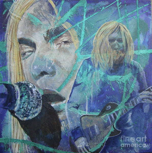 Allman Painting - Midnight Ryders by Stuart Engel
