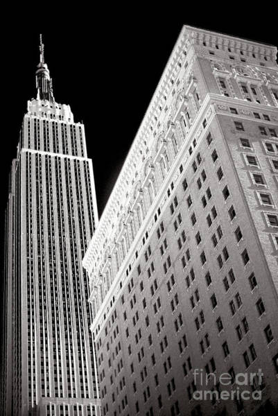 Wall Art - Photograph - Midtown Empire New York City by John Rizzuto