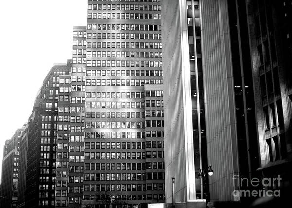 Wall Art - Photograph - Midtown Light In New York City by John Rizzuto