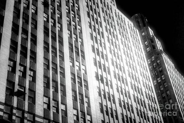 Wall Art - Photograph - Midtown Noir In New York City by John Rizzuto