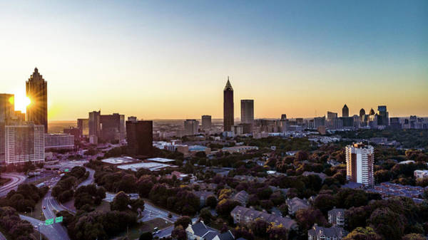 Photograph - Midtown Sunset by Mike Dunn