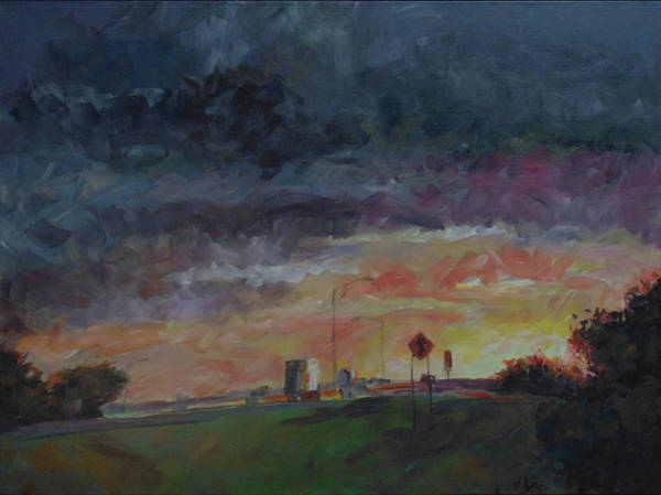 Painting - Midwest Merge by Susan Moore