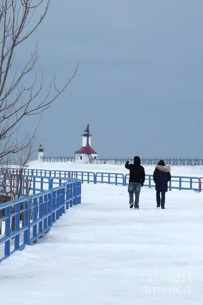 Photograph - Midwinter Freeze by Ann Horn