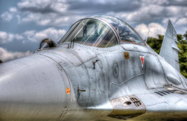 Wall Art - Photograph - Mig-29 Jet Fighter  by David Pyatt