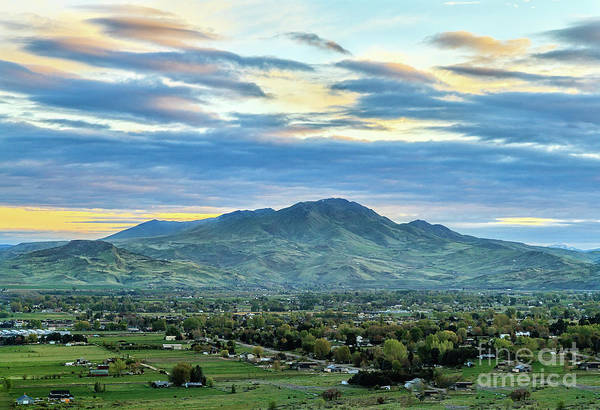 Wall Art - Photograph - Mighty Squaw Butte by Robert Bales