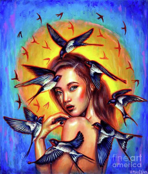 Wall Art - Painting - Migration by Olesya Umantsiva
