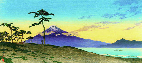 Wall Art - Painting - Miho Sunset - Digital Remastered Edition by Kawase Hasui