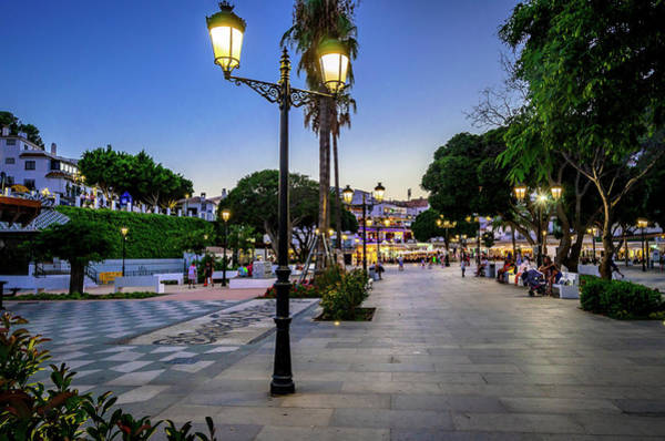 Photograph - Mijas Main Square II by Borja Robles