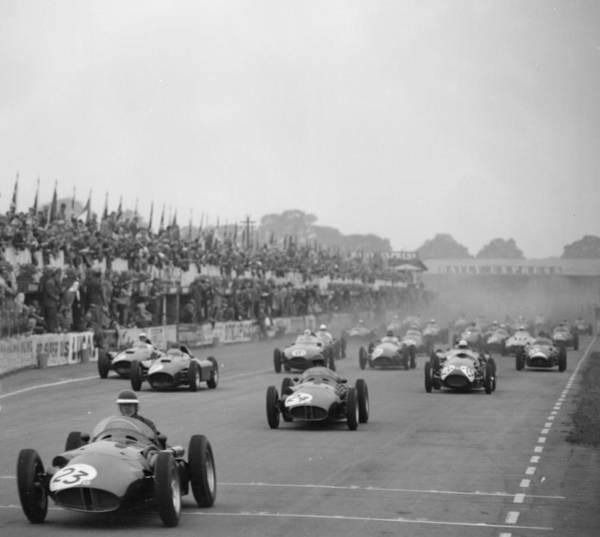 Motor Sport Photograph - Mike Hawthorn by Express