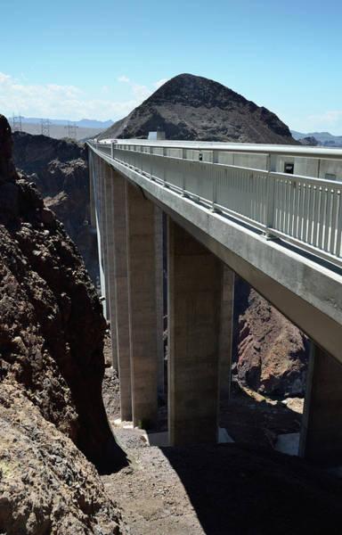 Photograph - Mike O Callaghan - Pat Tillman Memorial Bridge Pillars by RicardMN Photography