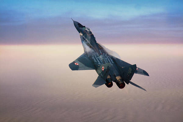Photograph - Mikoyan Gurevich Mig 29a Fulcrum by Chris Lord